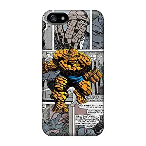 Free Walking Case For Iphone 5/5s With Nice The Thing Comics Appearance