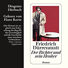 Der Richter und sein Henker Hörbuch von Friedrich Dürrenmatt Gesprochen von: Hans Korte