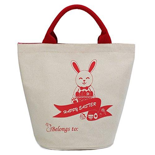 Hoople Bunny Ears Design Easter Bunny Bags F1-Bucket (Diy Disney Costumes For Adults)