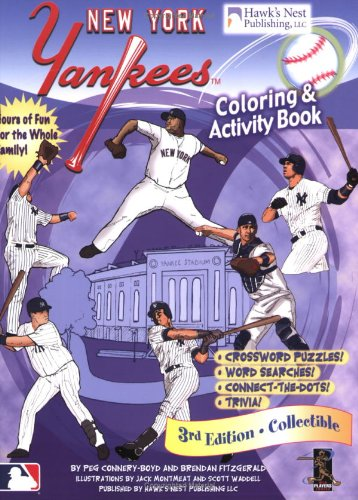 Yankees Coloring and Activity Book PDF