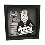 Alfred Hitchcock Pyscho Movie 3D Pop Art