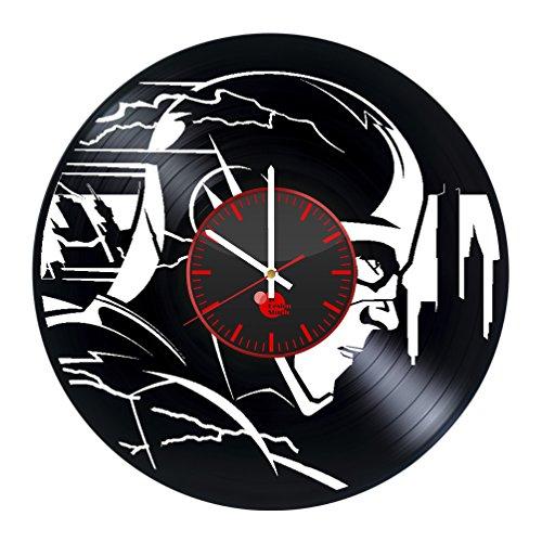 Flash Super Speed Vinyl Record Wall Clock - Get unique bedro