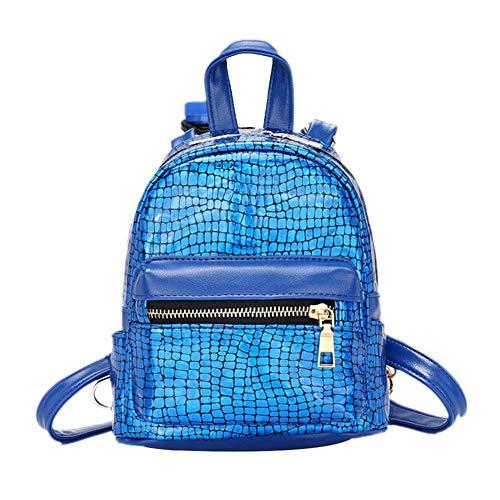 les filles d'école Style Femmes pour Blue VHVCX Voyage à école Femmes coloré Sac dos Sacs Satchel Décoloration Mode qgZz8
