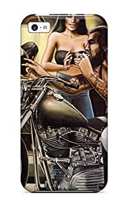 TYH - Flexible Tpu Back Case Cover For Iphone 6 plus 5.5 - Motorcycle 56K65 phone case