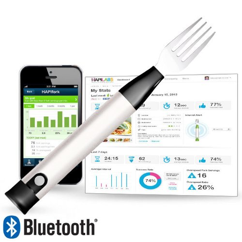 HAPILABS 105 Bluetooth-Enabled Smart Fork