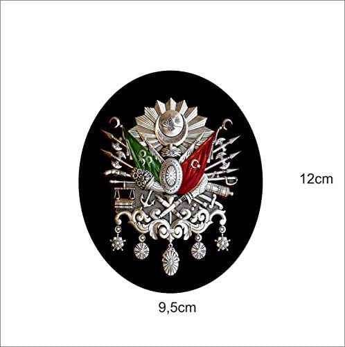 Saphir Design Osmanli Armasi Oval Türkiye Sehr Coole Autoaufkleber 9 5x12cm A151 Digitaldruck Küche Haushalt