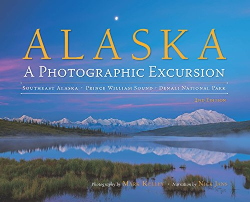 Personally signed by the photographer and beautifully updated with a brand new chapter featuring the Aurora Borealis  (2019, hard covers only).  A beautiful Alaska memory for those who have been here, an inspiration for those wanting to travel here, ...