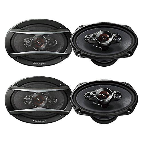 "Pioneer 6x9"" 5-Way 650W Coaxial Car Audio Stereo Speakers, 2"