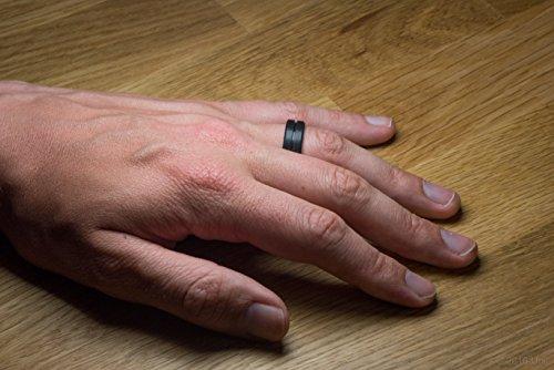 Unii Silicone Wedding Ring Safety Rubber Wedding Band Athletic