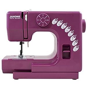 Janome Merlot Sew Mini Sewing Machine with Bonus Bundle from Jano