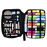 Sewing KIT, Premium Set has Over 100 Supplies & 24-Color Threads, a Smart Solution for Emergency Clothing Repairs | Mini Mending Kit with Accessories, for Travel & Easy to Use for Adults & Beginners