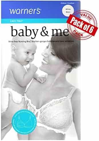 3c79a9914 Warner s Maternity Women s Baby   Me Sleep Nursing Bra - Bonus Saver 6 Pack  of 6