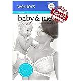 Warner's Maternity Women's Baby & Me Sleep Nursing Bra - Bonus Saver 6 Pack of 6 Bras (38DD, Bonus 6 Pack - White)