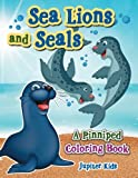 Sea Lions and Seals: A Pinniped Coloring Book