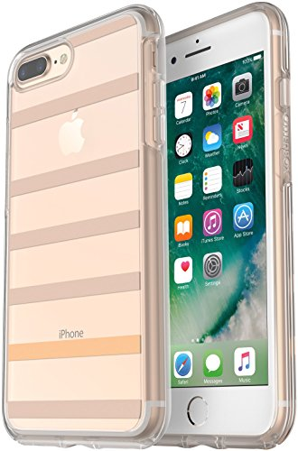 OtterBox Symmetry Series Slim Case for iPhone 8 Plus & iPhone 7 Plus (ONLY) - Non-Retail Packaging - Inside The Lines