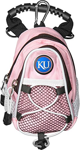 Kansas Jayhawk Golf Mini Day Pack Golf Pink - Licensed NC...