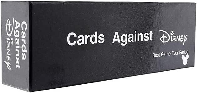 Cards Against Humanity Disney Edition - Incohearent Board Games Adult - Expansion Crazy Party Card Game Toy - Regalos para Amigos Hombres Mujeres Juegos de Fiesta,Negro: Amazon.es: Hogar