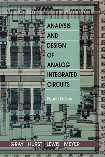 (Analysis and Design of Analog Integrated Circuits)