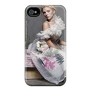 Pretty QMmFp8572VzMQd Iphone 4/4s Case Cover/ Scarlett Johansson 38 Series High Quality Case