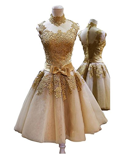 next gold lace dress - 7