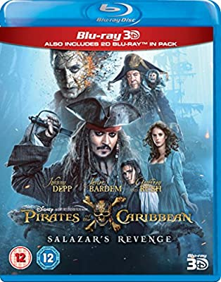 Pirates of the Caribbean: Salazar's Revenge (3D) [Blu-ray] [2017]
