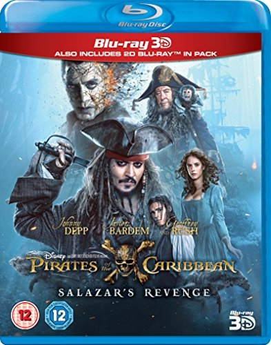 Pirates Of The Caribbean  Salazars Revenge  3D   Blu Ray   2017