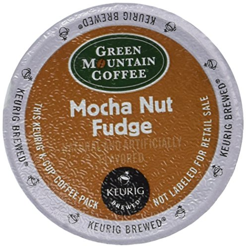 Green Mountain Coffee Mocha Nut Fudge - 18 ct