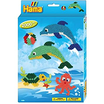 Hama 3435 Loisirs Créatifs Boîte Perles à Repasser Taille