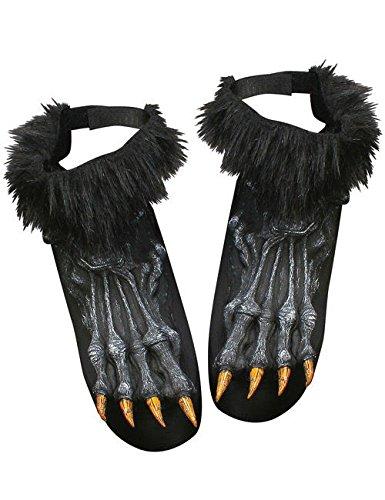 Disfraz de hombre lobo zuecos colour negro: Amazon.es: Juguetes y ...