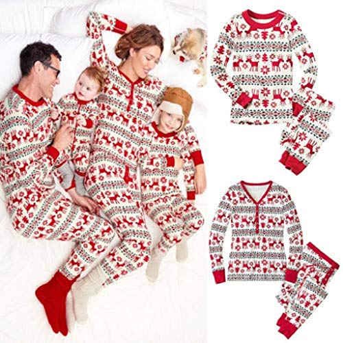 Christmas Family Pajamas Pjs Footie Pants Baby Women Animal for Flannel Mens Footed Womans Girls red Stuffed Girl boy Fleece Monkey Little Mermaid Pink Infant 0-3 Months Zipper A1 -