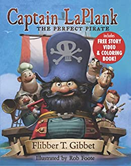Cover image Captain LaPlank: The Perfect Pirate