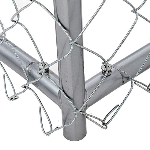 Lucky Dog Galvanized Chain Link Kennel (10' x 5' x '4) by Lucky Dog (Image #5)