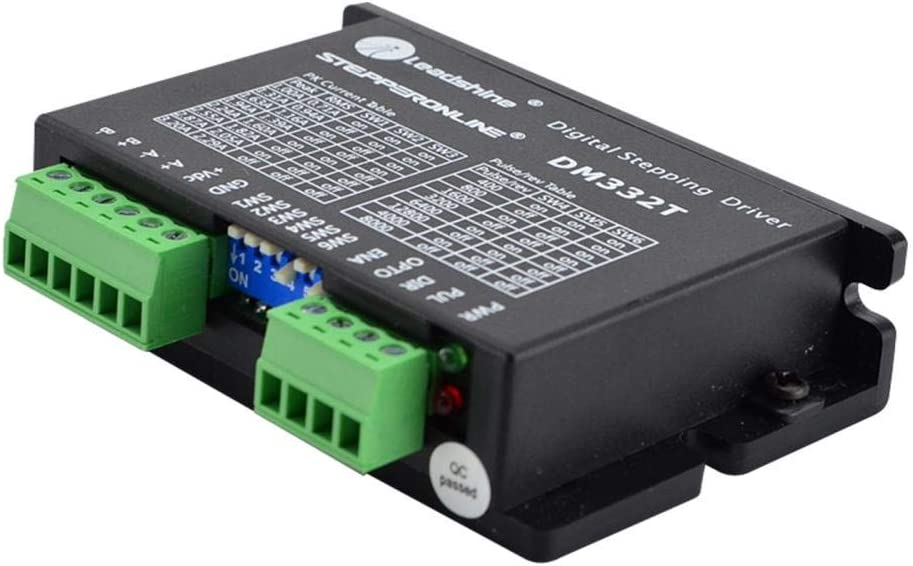 23 Schrittmotor STEPPERONLINE Digitaler Schrittmotor Treiber 1.0-3.2A 18-30VDC f/ür Nema 17