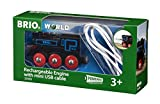 BRIO Rechargeable Engine w mini USB cable