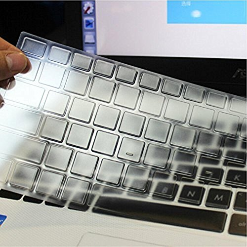 Saco Chiclet Keyboard Skin for MSI Steel series PX60 Gaming CX62 PX60 CR62 CR72 GS30 17.3/15.6 inch - TPU