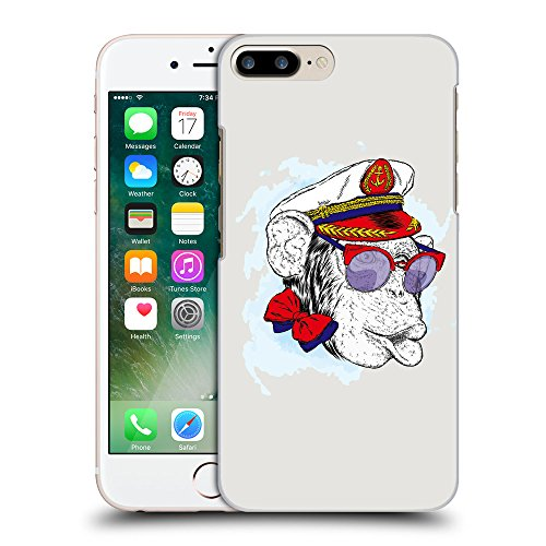 GoGoMobile Coque de Protection TPU Silicone Case pour // Q05000631 Capitaine singe Platine // Apple iPhone 7 PLUS