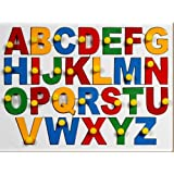 Little Genius English Alphabets - Uppercase with Knob