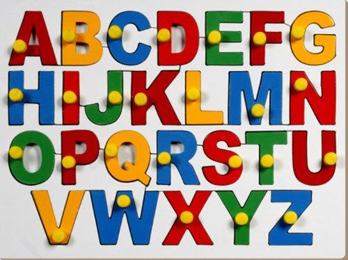 Little Genius English Alphabets - Uppercase with Knob product image