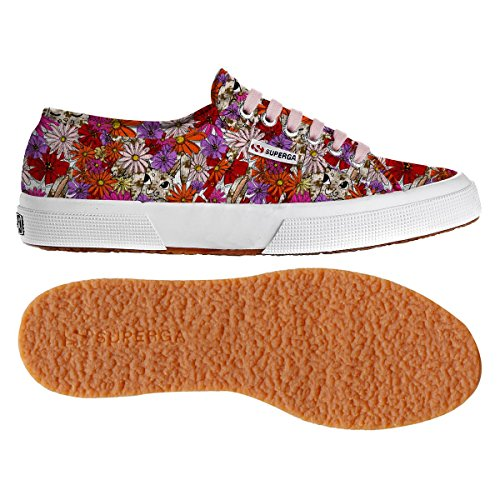 RUBBIT Cotu Fantasy Superga Sneaker FLOWERS Donna 2750 wRAqAYC