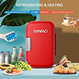 OMMO Mini Fridge, 6 L/8 Can Portable Fridge, Cooler