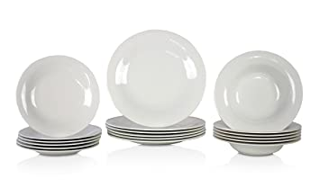 Villeroy u0026 Boch New Cottage 18-Piece Dinnerware Catering Set  sc 1 st  Amazon.com & Amazon.com | Villeroy u0026 Boch New Cottage 18-Piece Dinnerware ...