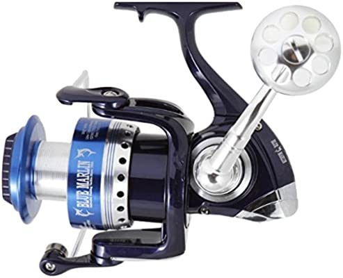 Ardent Blue Marlin 4500 Spinning Reel Carrete Pesca, Azul: Amazon ...