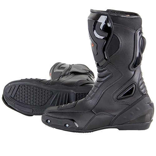 Vulcan V300 Mens Velocity Motorcycle Sport Boots - 13 by Vulcan