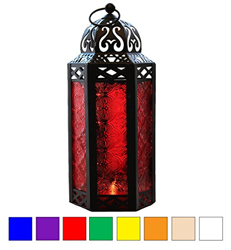 red candle holder - 1