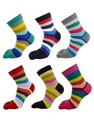 Panegy Women's Cotton Sports Running Athletic Yoga Gym Toe Socks