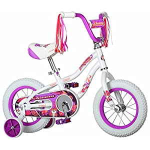 "Schwinn Girls Tigress Bicycle, 12"" Wheel, White"