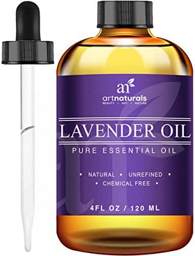 ArtNaturals Lavender Essential Oil for Aromatherapy - 3pc Set - Includes Our Signature Zen Blend 10ml + Signature Chi 10ml - Therapeutic Grade 100% Pure & Natural From Bulgaria (4 oz)