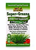 Country Farms Super Greens Vegicaps, Whole Food Supplement, 32 Organic Super Foods, 30 servings Review