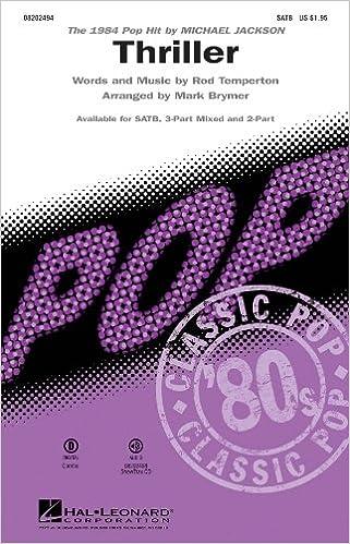 🚩 Amazon Buch auf Band herunterladen Thriller - Pop Choral Series