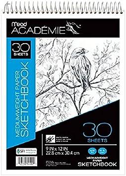 350-9 300 Series Sketch Pad 9x12 100 Sheets Strathmore